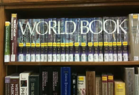 Photo of encyclopedias