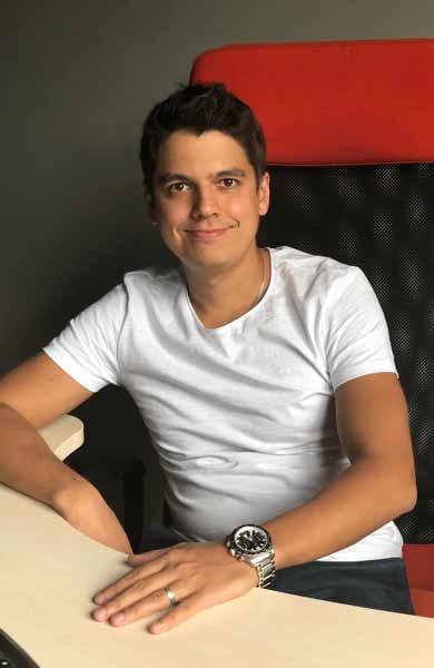 Photo of Vasily Petroff, CEO of TourBar