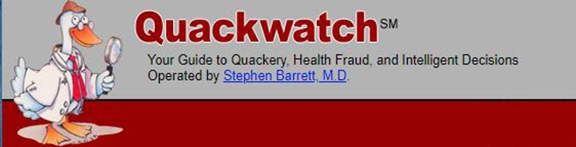 The Quackwatch logo
