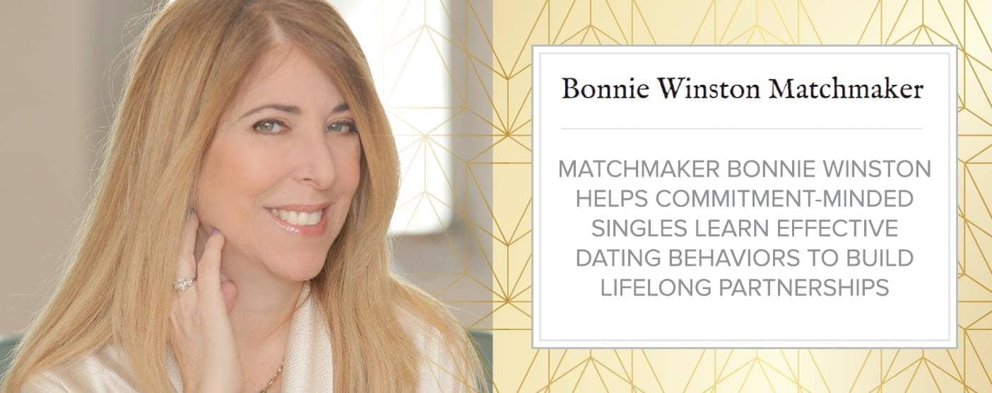 Bonnie Winston Helps Singles Learn Effective Dating Behaviors