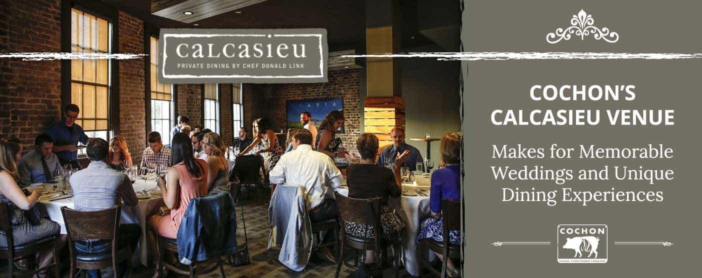 Cochon's Calcasieu Makes for Memorable Weddings
