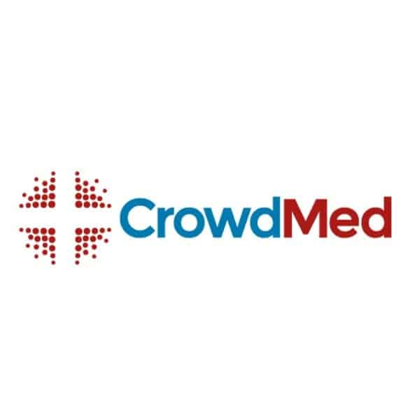 The CrowdMed logo