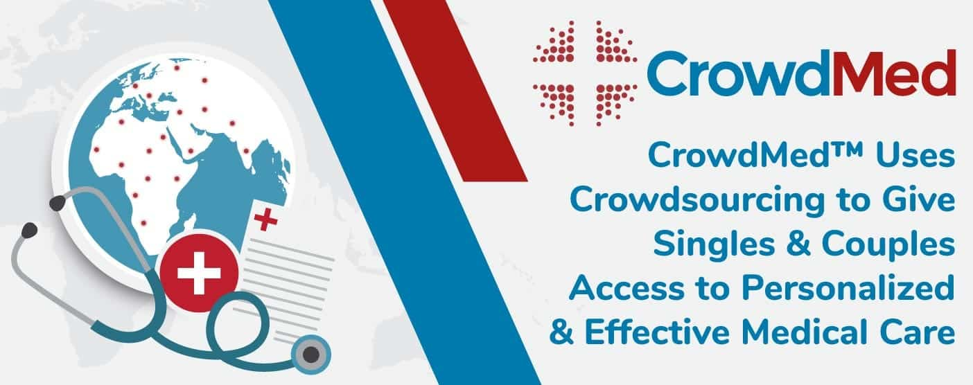 CrowdMed™ Uses Crowdsourcing to Give Singles & Couples Access to Personalized & Effective Medical Care
