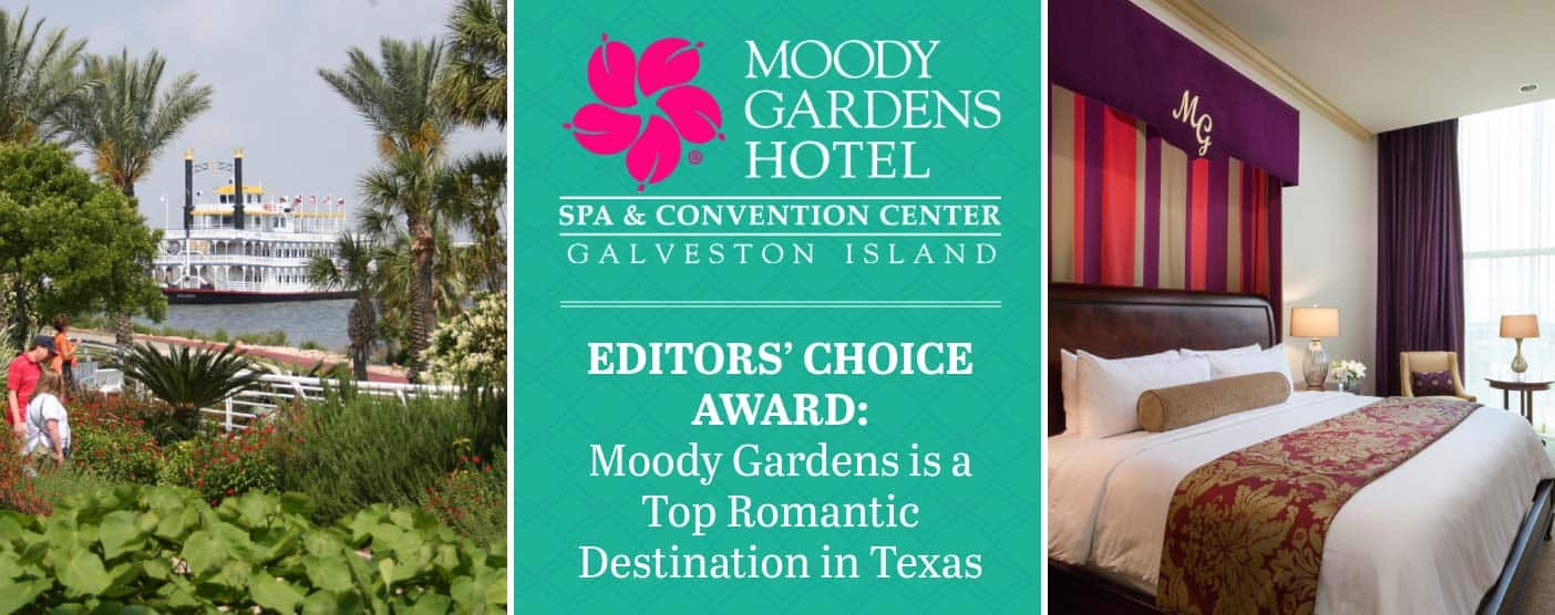 Editors' Choice Award: Moody Gardens is a Top Romantic Destination in Texas