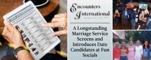 Encounters International Matches Singles at Socials