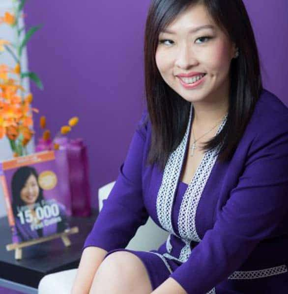 Photo of Violet Lim, CEO of Lunch Actually Group