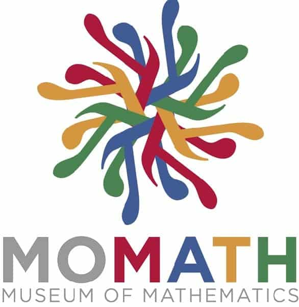 The MoMath logo