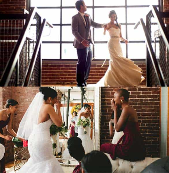 Photo of couples getting married at Terminus 330