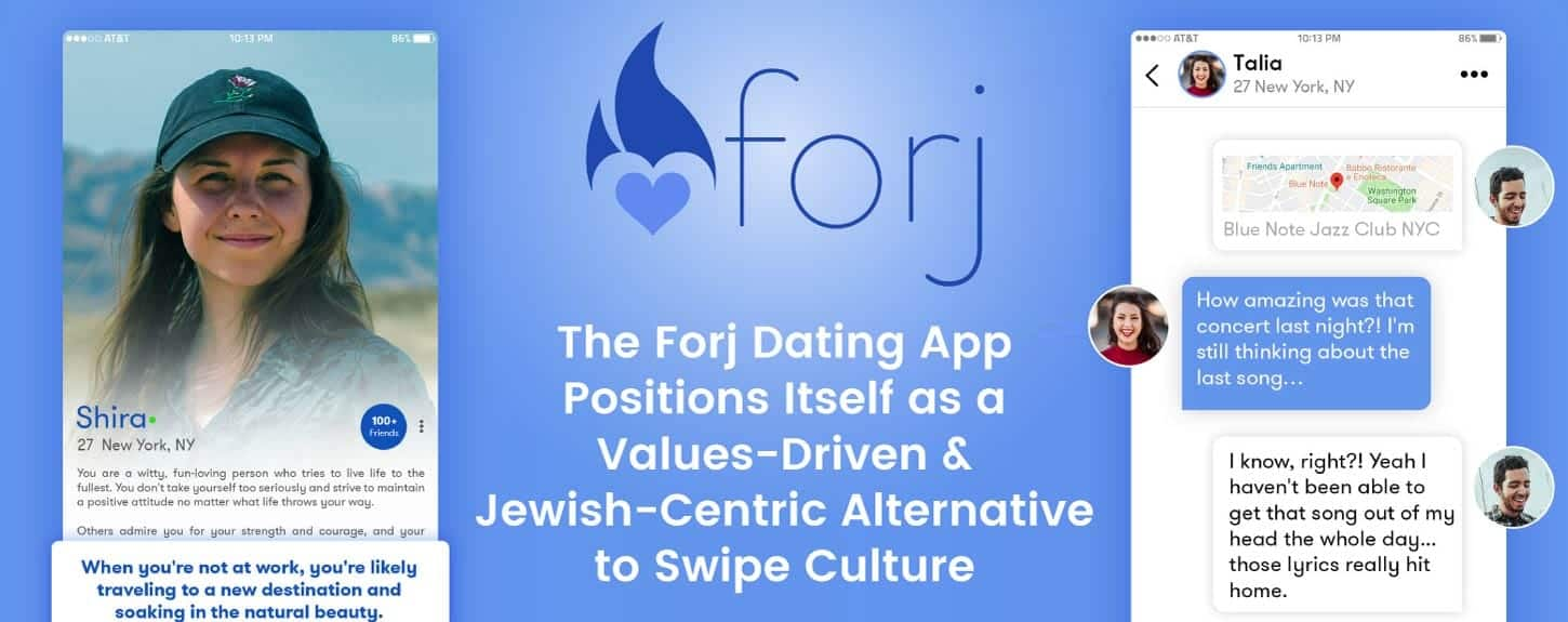 The Forj Dating App Positions Itself as a Values-Driven & Jewish-Centric Alternative to Swipe Culture