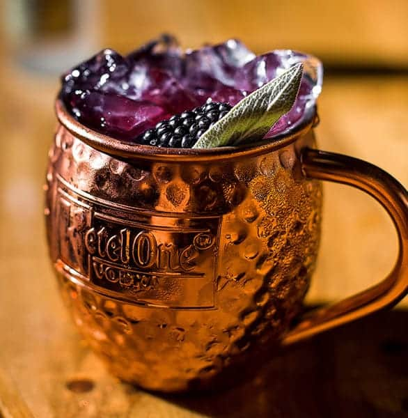Photo of a Moscow Mule