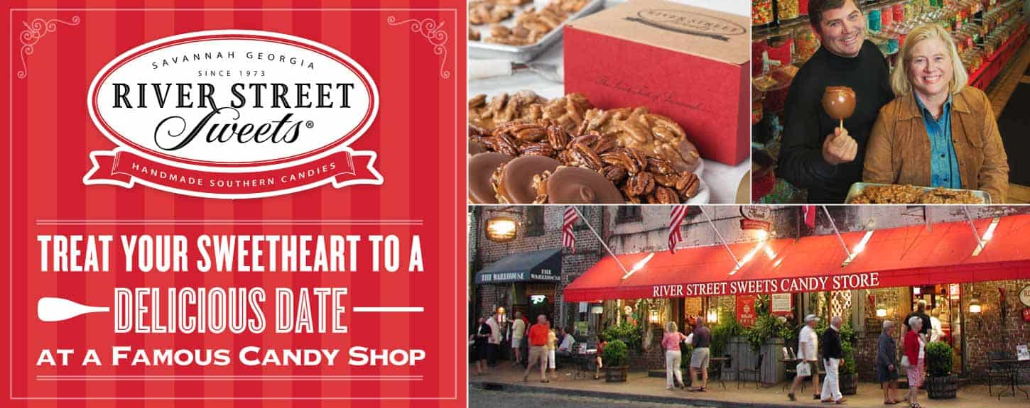 River Street Sweets: Treat Your Sweetheart to a Delicious Date at a Famous Candy Shop