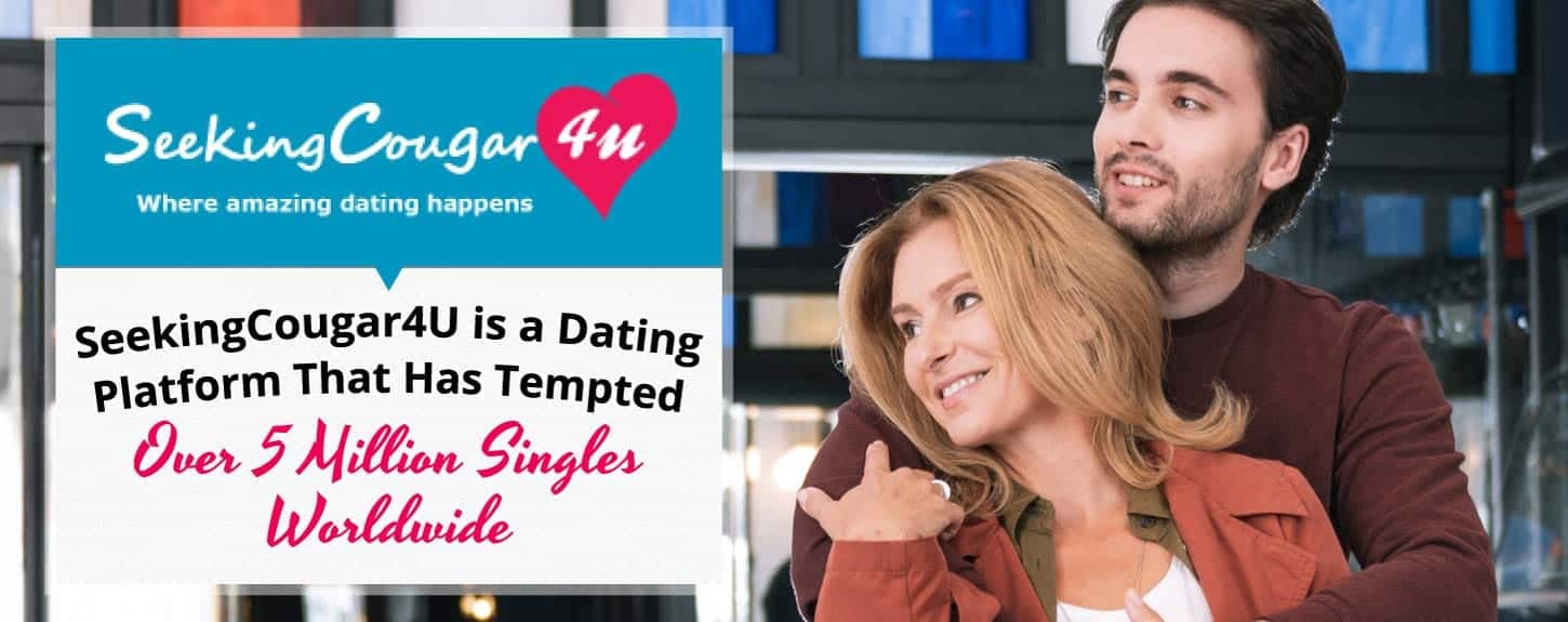 SeekingCougar Tempts Over 5 Million Singles