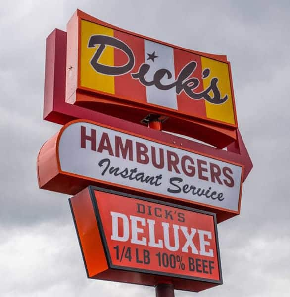 Photo of Dick's Drive-In sign