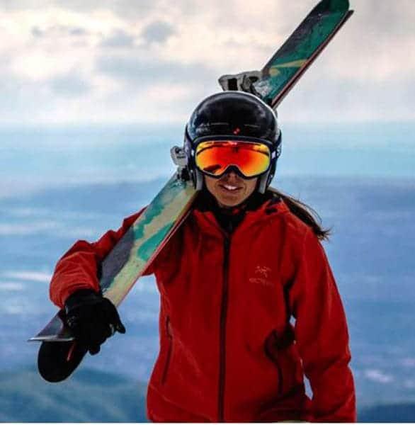 Photo of a skier in Santa Fe