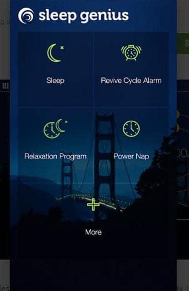 Screenshot of Sleep Genius