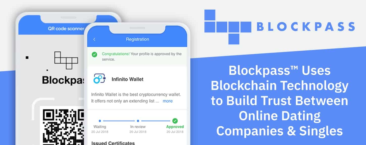 Blockpass™ Uses Blockchain Technology to Build Trust Between Online Dating Companies & Singles