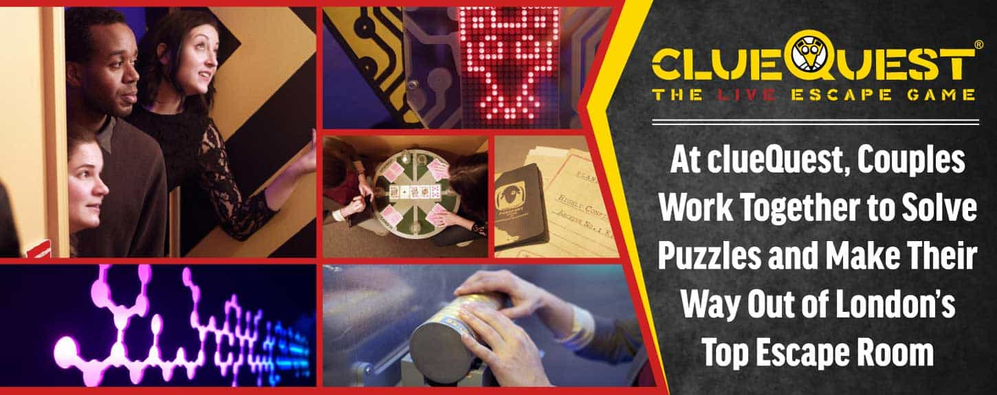 Editors' Choice Award: At clueQuest, Couples Work Together to Solve Puzzles and Make Their Way Out of London's Top Escape Room