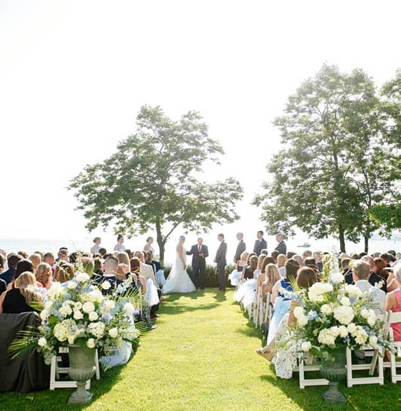 Photo of a wedding at the CBBC