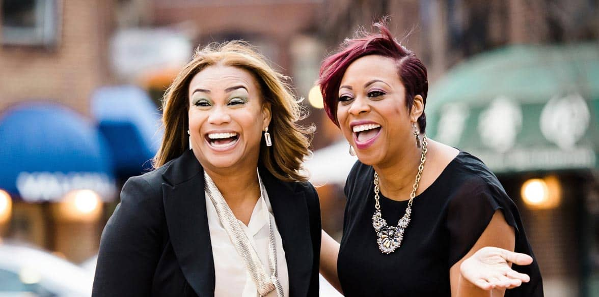 Photo of Tana Gilmore and Kelli Fisher of Fisher Gilmore Matchmaking