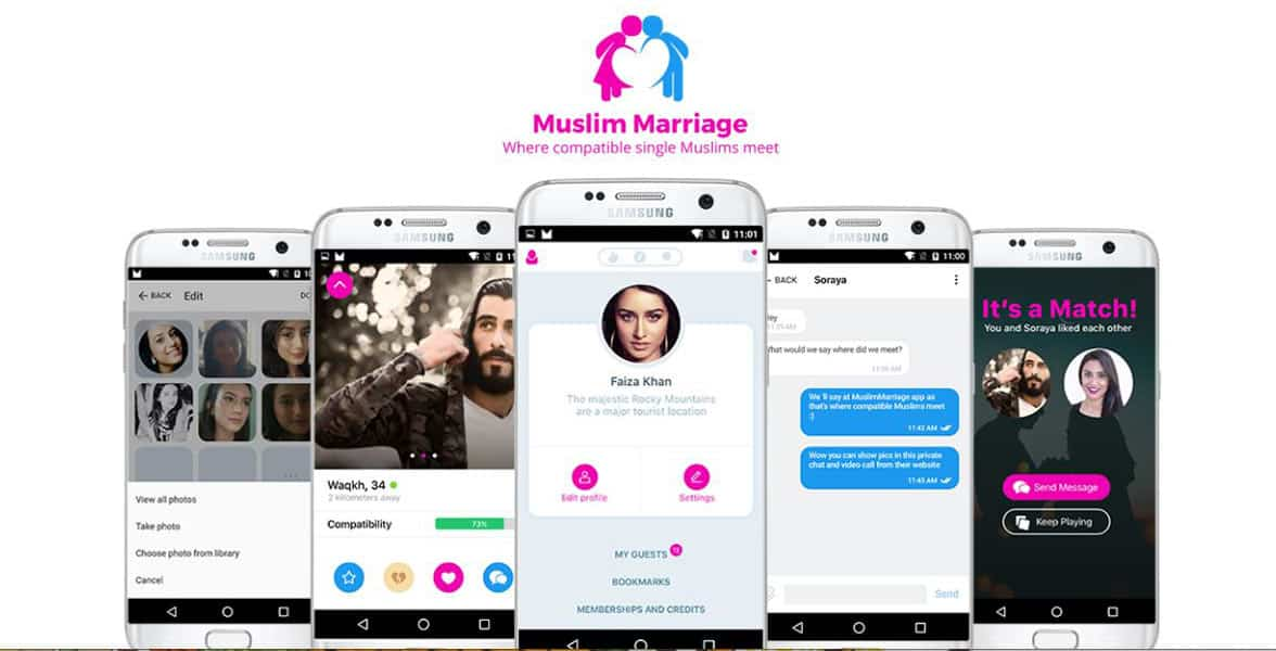 Screenshot from Muslim Marriage Solution