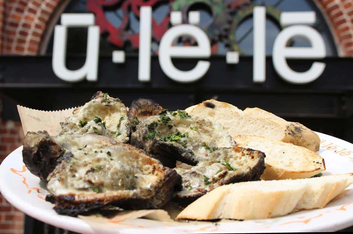 Photo of Ulele's charbroiled oysters