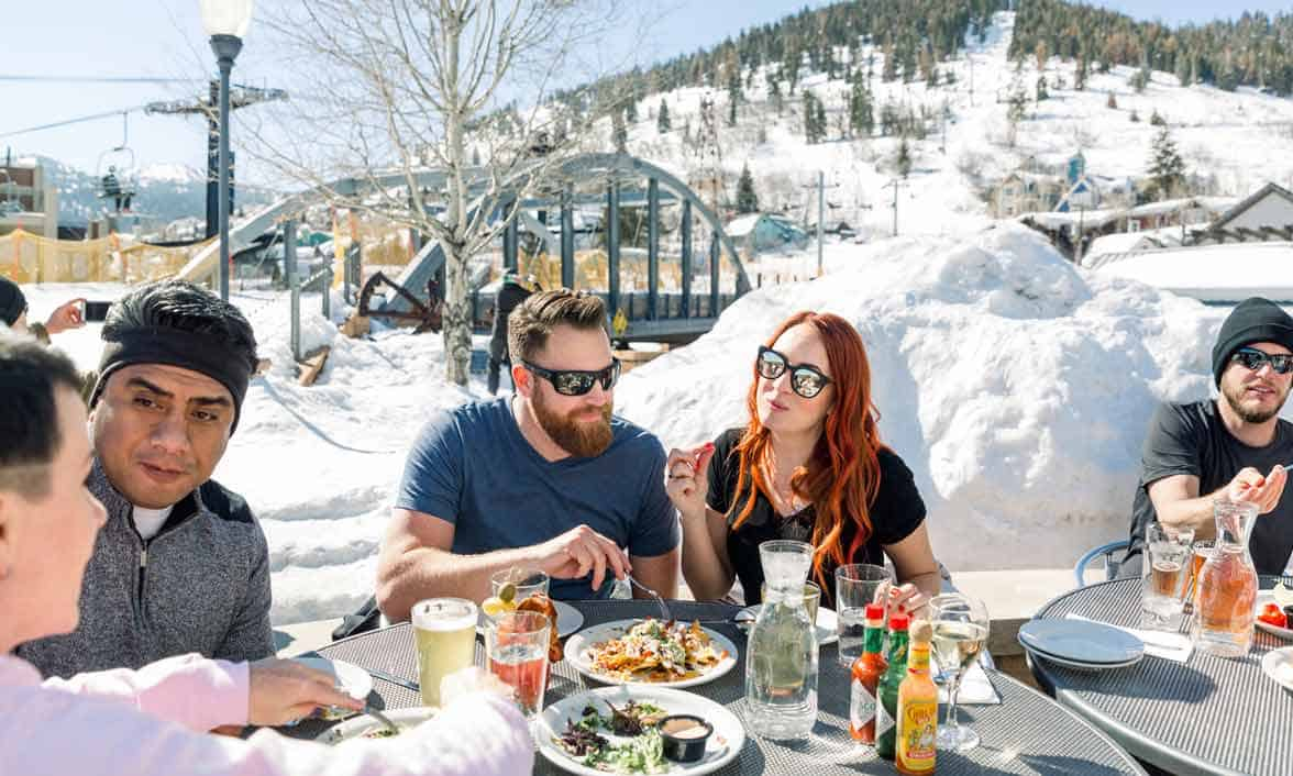 Photo of people dining in Park City