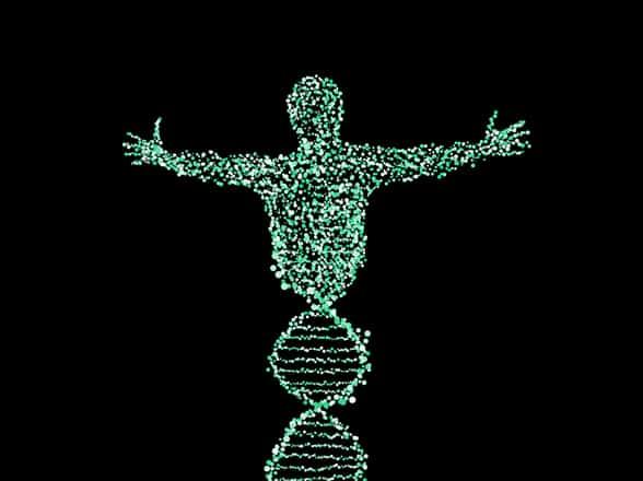 Screenshot of a BioViva gene therapy graphic