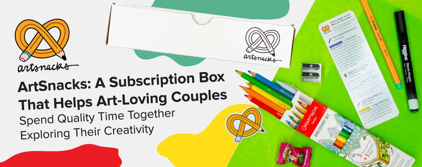 ArtSnacks Subscription Boxes Help Couples Spend Time Together
