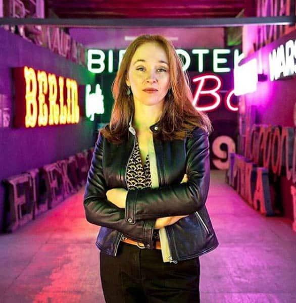 Photo of Ilona Karwinska, Co-Founder of the Neon Muzeum