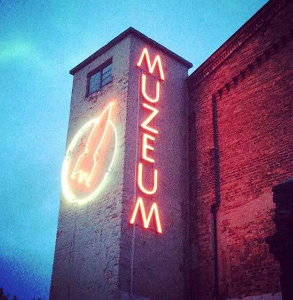 Photo of the Neon Muzeum