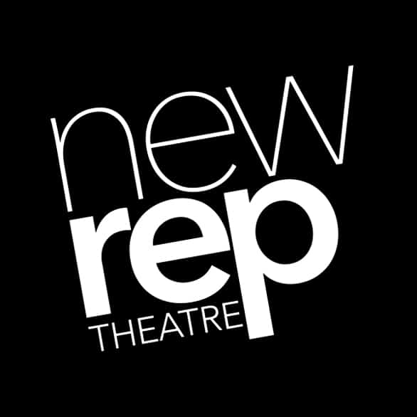 The New Repertory Theatre logo