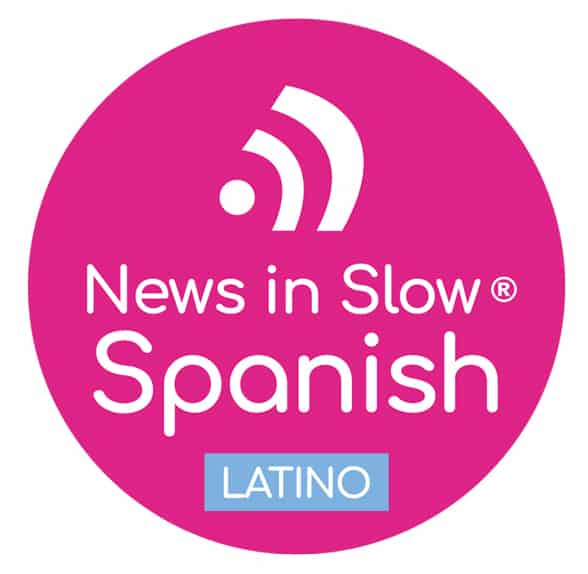 The News in Slow Spanish logo
