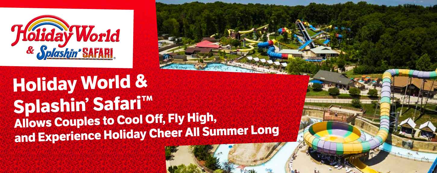 Holiday World & Splashin' Safari: Where Couples Experience Cheer All Year