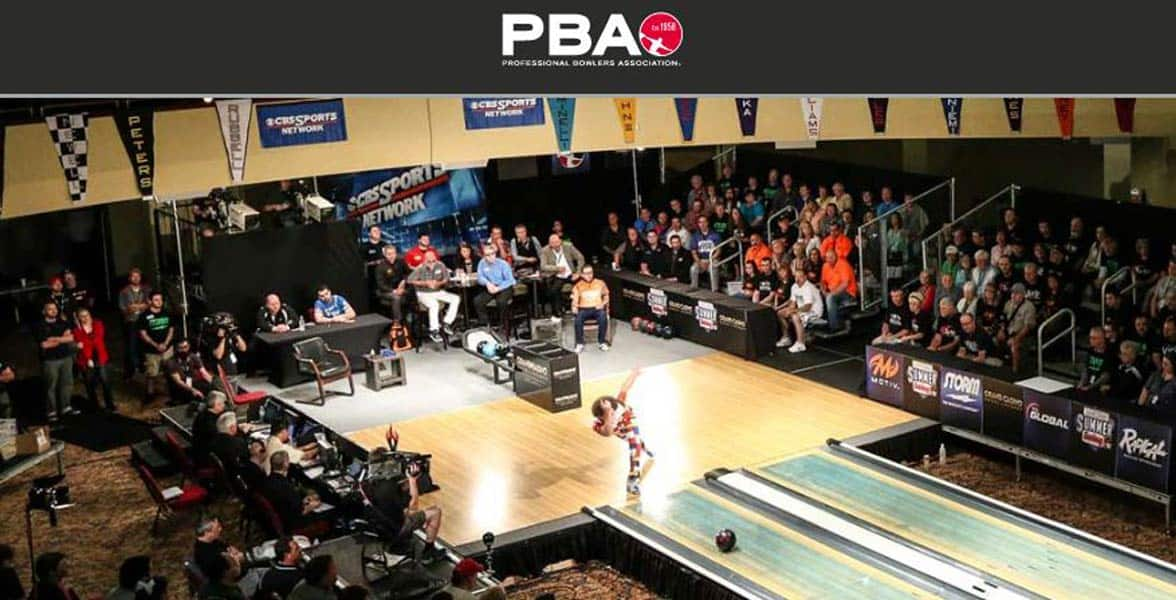 Photo of a PBA tournament