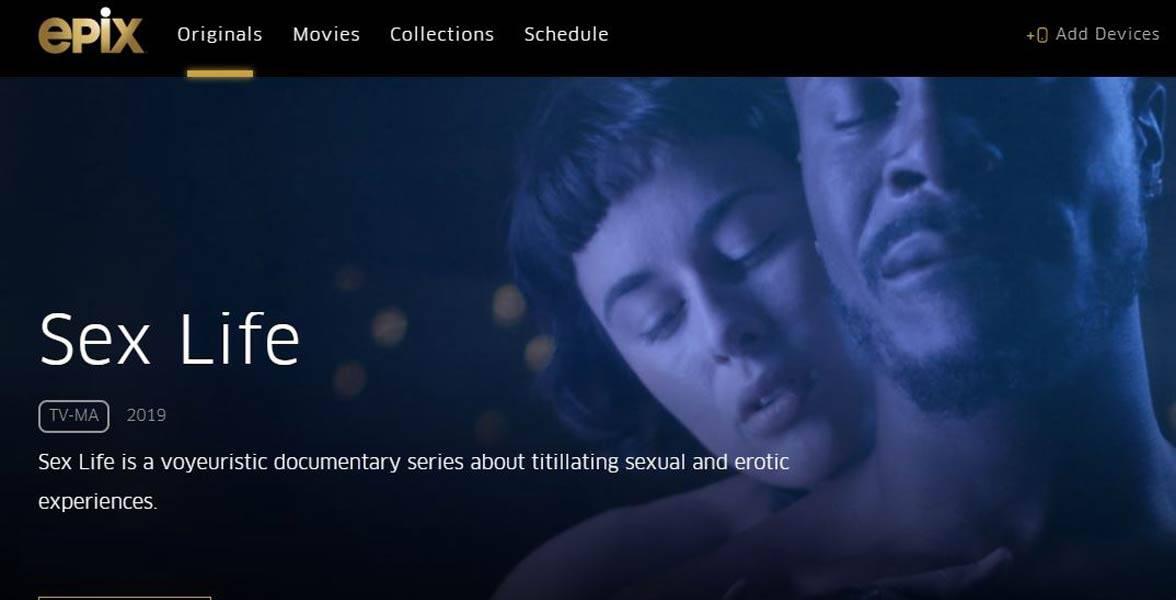 """Sex Life"" on Epix"