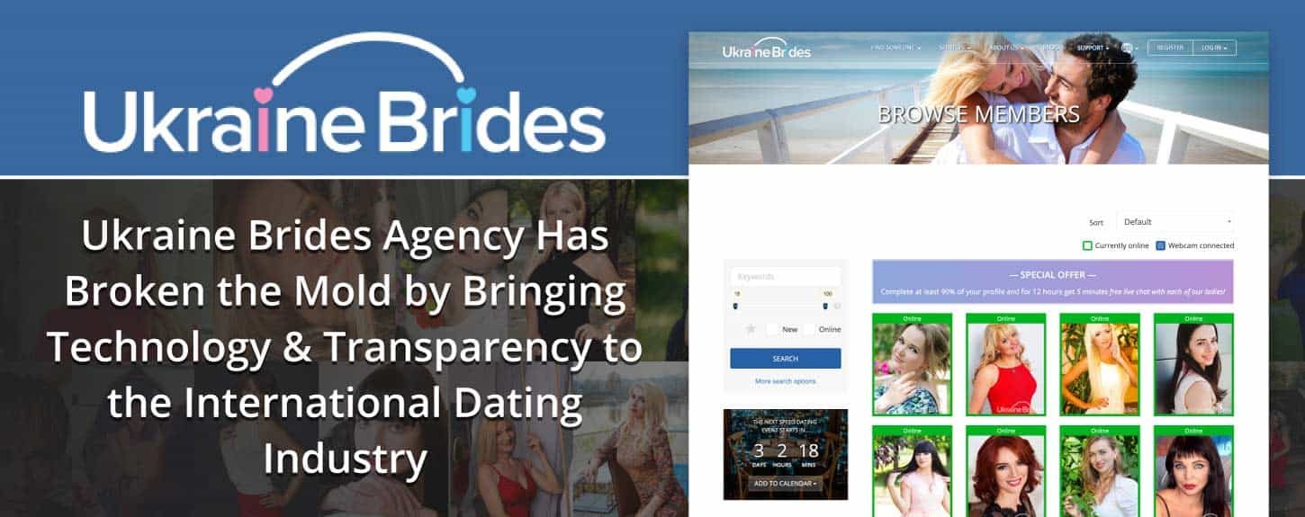 Ukraine Brides Agency Has Broken the Mold by Bringing Technology & Transparency to the International Dating Industry