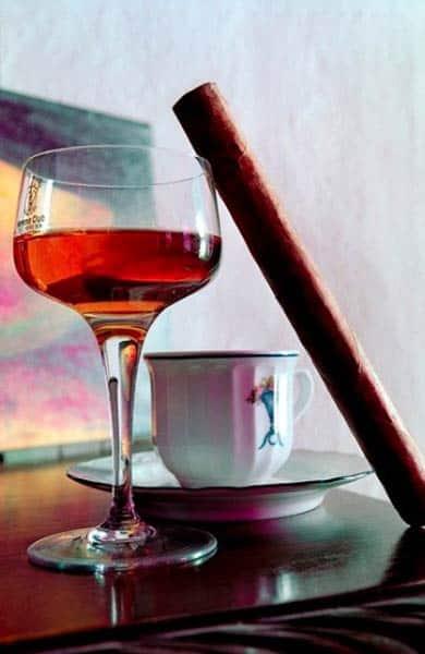 Photo of a cocktail at La Guarida