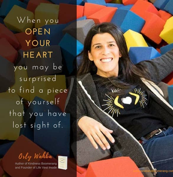 Photo of Orly Wahba, Founder of Life Vest Inside