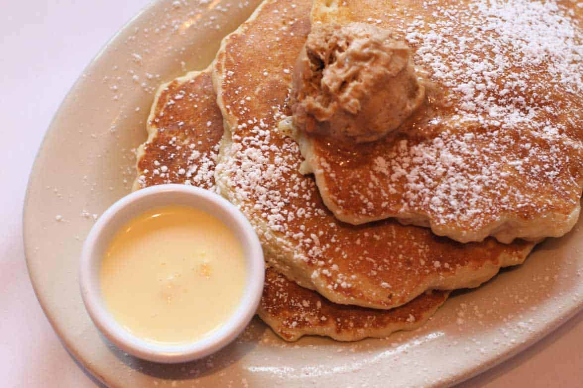 Photo of Southport Grocery and Cafe bread pudding pancakes.