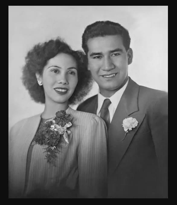 Photo of Florencio Delgado and his wife Maria