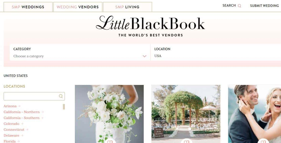 Screenshot of the Little Black Book