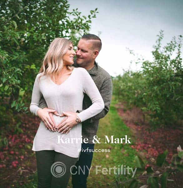 Photo of Karrie and Mark, CNY Fertility patients