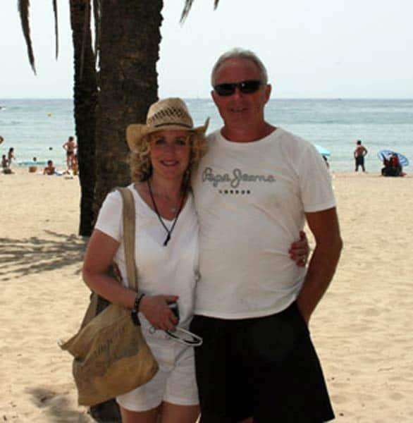 Photo of Rick and Leslie, who met on ILYA