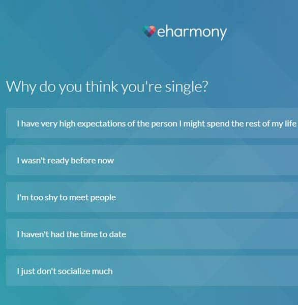 Screenshot of the Compatibility Quiz