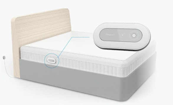 Graphic of Sleepace bed tracker
