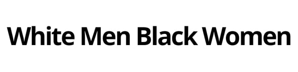 WhiteMenBlackWomenDatingSite.com logo