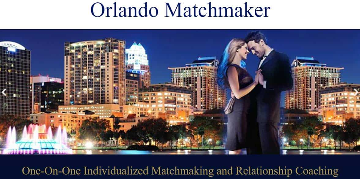 Screenshot of Orlando Matchmaker website